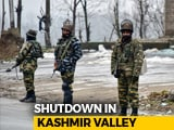 Video : Amid Reports Of Harassment Of Kashmiris After Pulwama, Shutdown In Valley