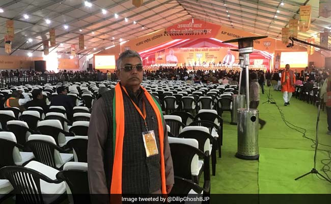 'Will Fight It Out': Bengal BJP Chief After Stones Thrown At His Car