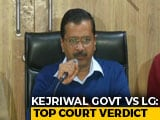 Video : In Delhi Tug-Of-War, Blow For AAP, Top Court Split On Officers