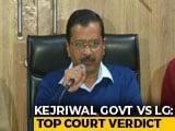 Video: In Delhi Tug-Of-War, Blow For AAP, Top Court Split On Officers