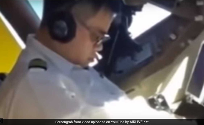 Pilot Filmed Sleeping In Cockpit, Punished After Video Is Viral
