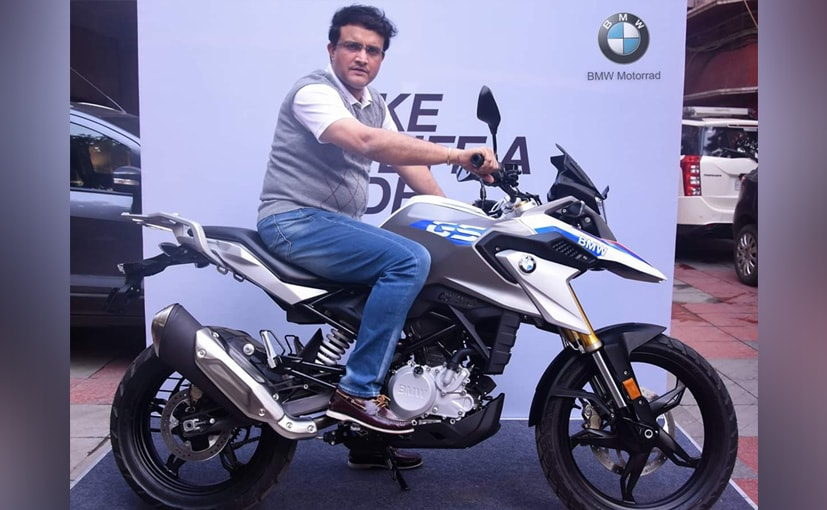 Cricketer Sourav Ganguly Takes Delivery Of New BMW G 310 GS