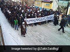 Total Shutdown In Kargil Against Creation Of Ladakh Division