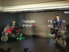 Benelli TRK 502 & TRK 502 X Adventure Bikes Launched In India; Priced From Rs. 5 Lakh