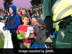 George Bailey, Daniel Sams' Brilliant Gesture For Young Fan Struck By Ball Wins Over Twitter
