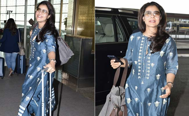 Set Style Goals In Pretty Ethnic Suits Like Kajol. 5 Top Picks