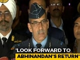 Video : Pak Releasing Pilot In Keeping With Geneva Convention: Indian Air Force