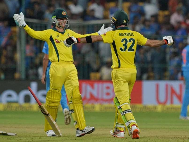 2nd T20I: Glenn Maxwell Fires Australia To Maiden T20 Series Win Over India