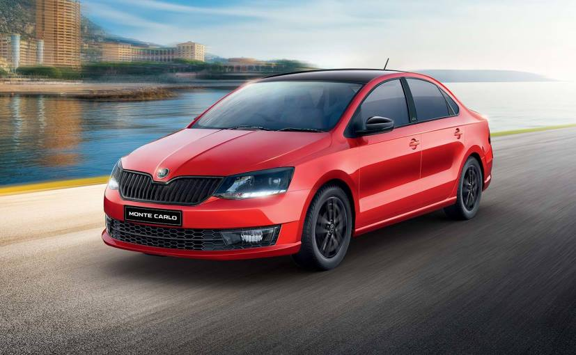 The new Skoda Rapid Monte Carlo comes in an exclusive Flash Red colour option