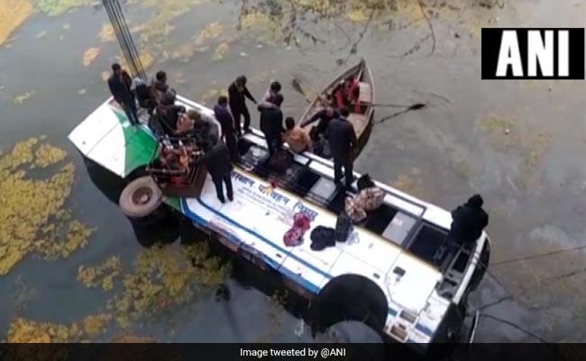 Bus Falls Into Drain In Rajasthan, 6 Injured