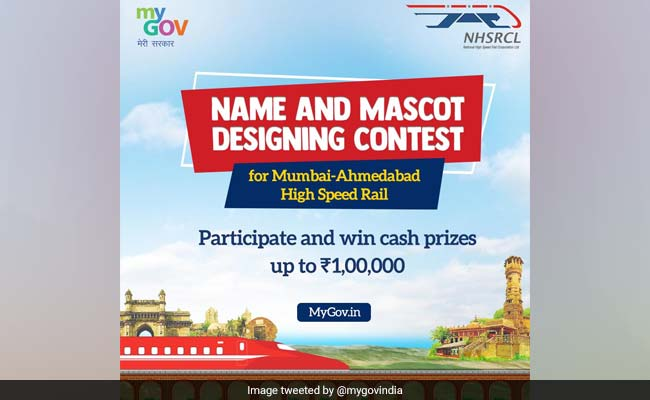 Mascot Design Contest For Bullet Train Launched; Cash Prize For Winners