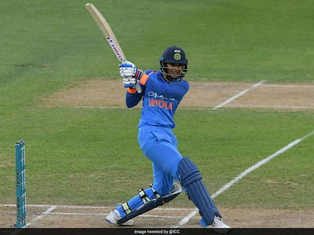 Smriti Mandhana Scored Her Seventh T20 International Half-Century Off 24 Balls Which Is Fastest By Any Indian