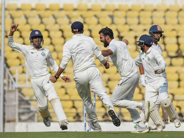 Ranji Trophy Final: Vidarbha On Top Against Saurashtra