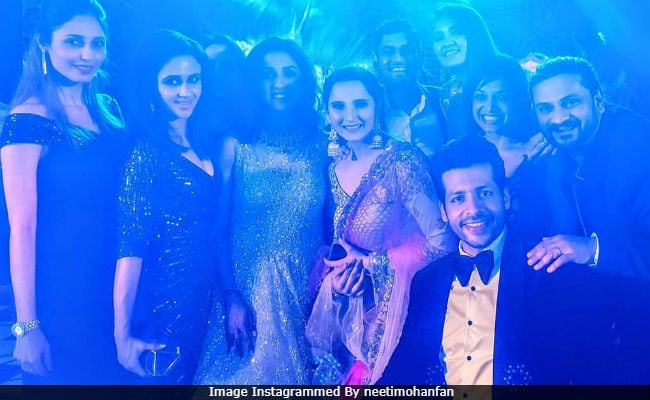 Inside Neeti Mohan And Nihaar Pandya's Pre-Wedding Festivities With Sania Mirza And Other Guests