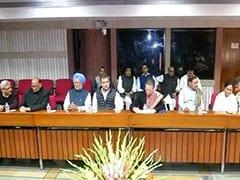 विपक्षी दलों की बैठक: सभी पार्टियों ने भारतीय वायुसेना की कार्रवाई की तारीफ की, कहा- शहादत पर राजनीति कर रही है बीजेपी