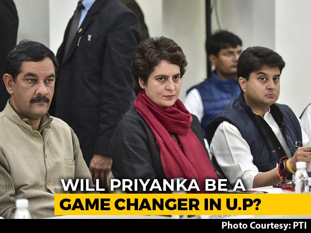 Video : Will Priyanka Gandhi Boost Congress' Chances In UP? Mission Begins Today