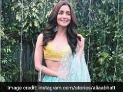 Bridesmaid Alia Bhatt Adds Glitter And Sparkle To Her Friend's Wedding. See Pics