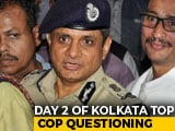 Video : Kolkata Top Cop's Day 2 With CBI Today After 8-Hour Questioning