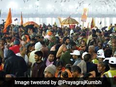 Magh Purnima Photos: माघी पूर्णिमा के शाही स्नान पर लाखों श्रद्धालुओं ने लगाई संगम में डुबकी
