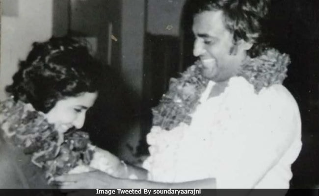 Rajinikanth And Wife Latha In A Pic From Their Wedding 38 Years Ago, Shared  By Daughter Soundarya