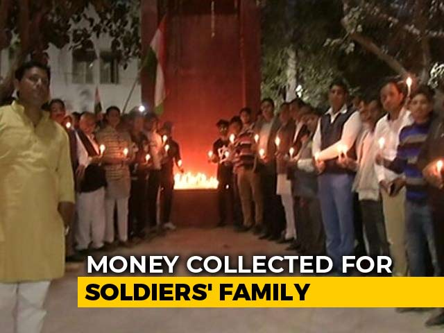 Video : Village In Delhi Raises Funds For Children Of Soldiers Killed In Pulwama