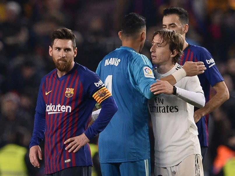 Lionel Messi Unable To Inspire Barcelona Winner As Real Madrid Hold On For Draw