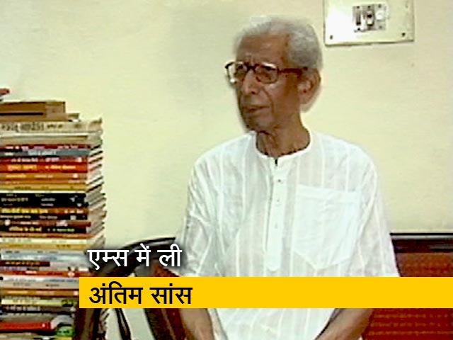 Videos : प्राइम टाइम: नामवर सिंह के निधन से हिंदी साहित्य के एक युग का अंत