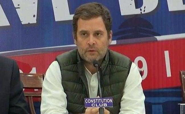 राहुल गांधी बोले, EVM पर भ्रम दूर करना जरूरी, सोमवार को मिलेंगे चुनाव आयोग से