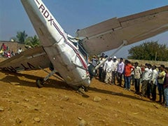 Pilot Injured After Civil Aviation Training Aircraft Crashes In Pune