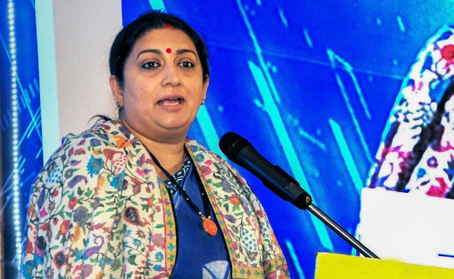 Congress Has Joined Hands With Those Baying For PM's Blood: Smriti Irani