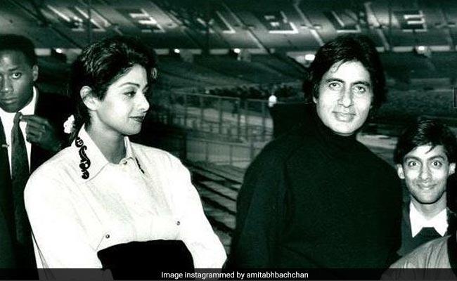 'Historic': Amitabh Bachchan Recalls Sridevi's First Concert - They Danced To Jumma Chumma; Aamir, Salman Khan Spotted
