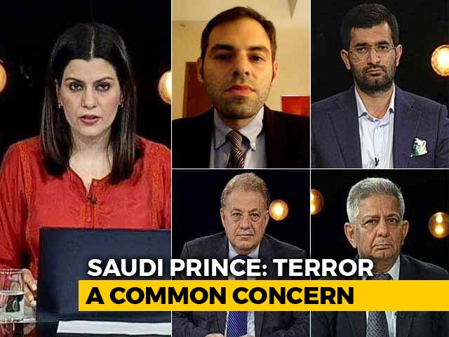 Video : PM Modi-Saudi Crown Prince Hold Talks: Congress Slams 'Hugplomacy'