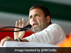 """Farmers Will Get Just Rs. 3.5 A Day. Is This A Joke?"" Asks Rahul Gandhi"