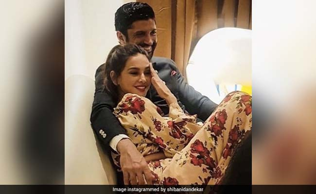 'Wedding Vibes,' Shibani Dandekar Captions Pic With Farhan Akhtar. But Should We Be Excited?