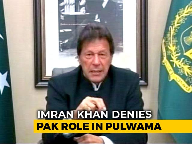 "Video : ""Pak Will Retaliate If India Attacks"": Imran Khan Amid Tension Over Pulwama"