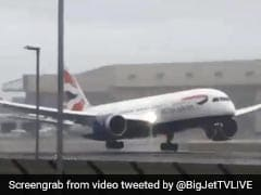 Hyderabad-London Flight Bounced While Landing. Watch How Pilot Handled It