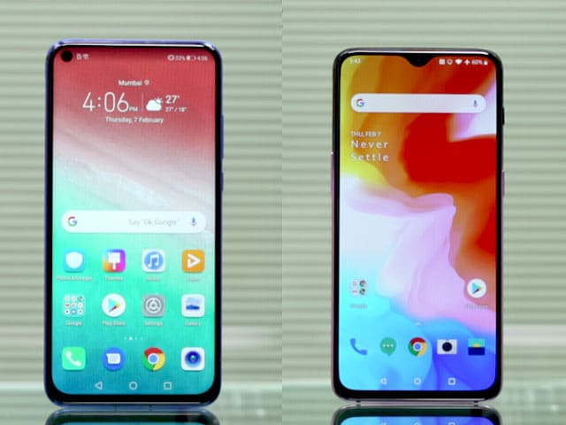 Video : OnePlus 6T vs Honor View 20