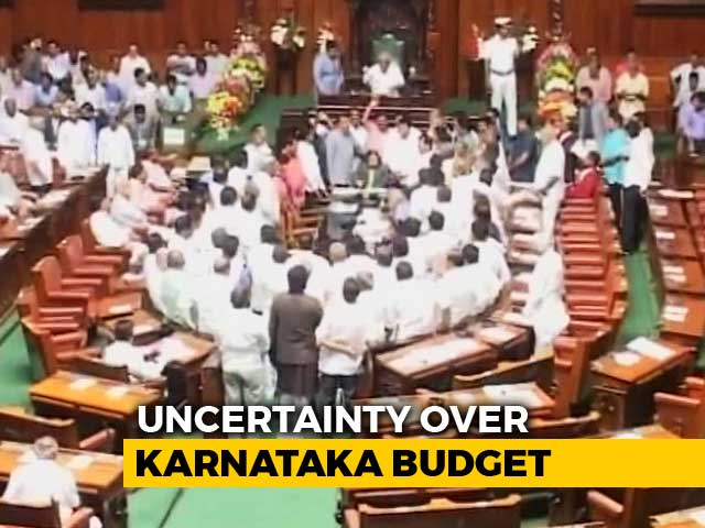 Video : Ahead Of Karnataka Budget, HD Kumaraswamy Woos Rebel MLAs With Plum Posts