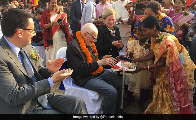 92-Year-Old Bengal Priest Gets France's Highest Civilian Honour