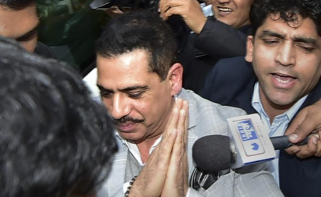 Probe Agency Ordered To Provide Copy Of Seized Documents To Robert Vadra