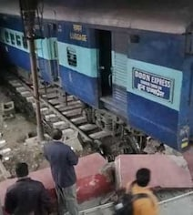 Woman Injured, Platform Barrier Destroyed As Doon Express Rams Into It