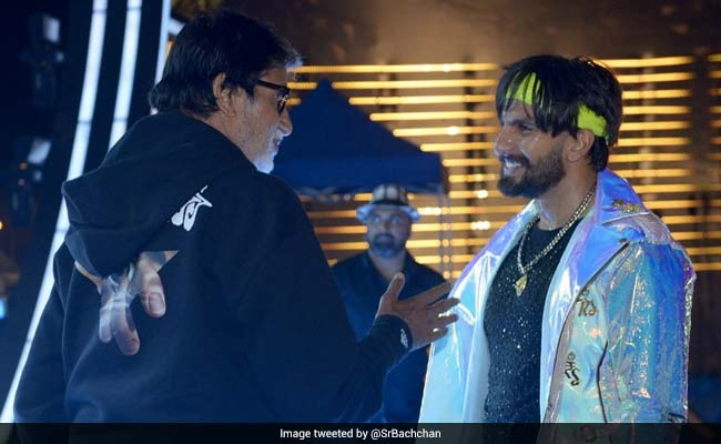Gully Boy Ranveer Singh Posts About Note From Amitabh Bachchan, Shweta Leaves Emoji Comment