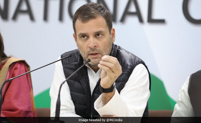 Modi Government 'Textbook Case Of Moral Bankruptcy': Rahul Gandhi