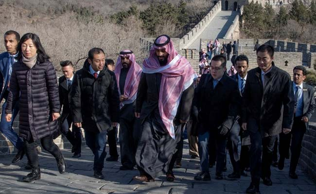 Saudi Agrees $10 Billion China Refinery Deal As Crown Prince Visits