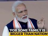 "Video : ""India First Or Family First"": PM Jabs Congress At War Memorial Launch"