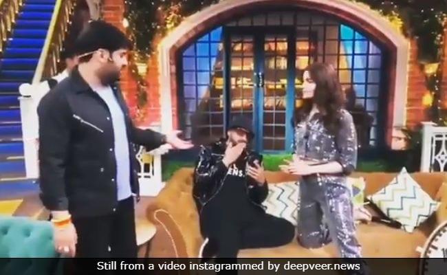 Viral: Wait Na, Kapil Sharma. Ranveer Singh Is Still On The Phone To Deepika Padukone