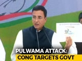 "Video : ""PM Learnt About Pulwama Attack, Continued To Shoot For Film"": Congress"