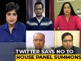 Video : Twitter Denies Bias Charge As Parliamentary Panel Summons It