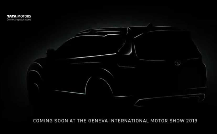 The Tata H7X will make its public debut at the 2019 Geneva Motor Show.