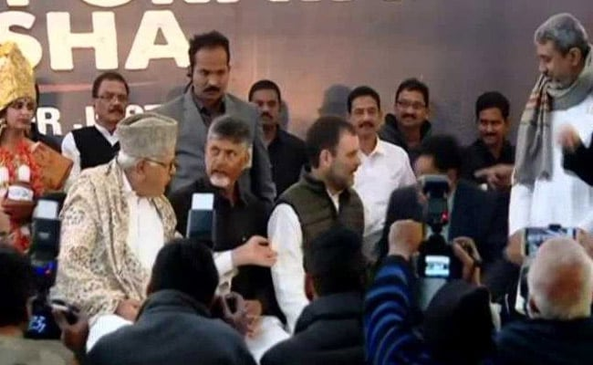 Rahul Gandhi, Farooq Abdullah Join Chandrababu Naidu On Protest Day: Live Updates